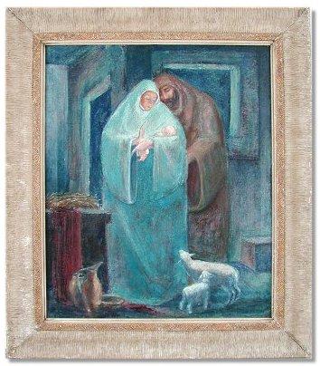 Nativity by Paul Phillips